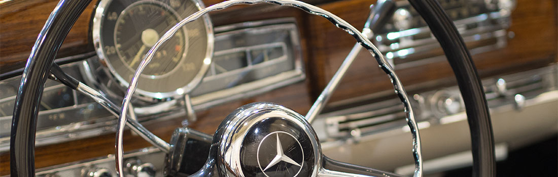 Mercedes-Benz classic parts shop